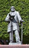 在尊敬的纪念碑对Ezequiel Montes Ledezma,著名墨西哥宽宏政客 库存照片