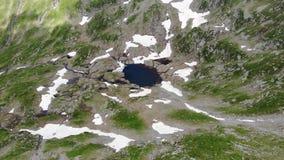 在小山湖的看法 多雪的区域 影视素材