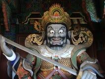 在小山的寺庙 免版税图库摄影