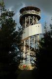 在小山的观察塔 库存图片