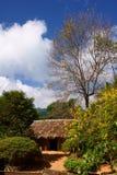 在小山2的村庄 库存图片