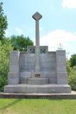 在小山60的WW1英国第14份轻的分部纪念品在伊珀尔,比利时附近 图库摄影