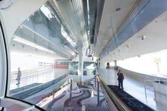 在小条的著名云霄飞车弗累斯大转轮在拉斯维加斯,内华达 免版税库存图片