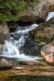 在小河的瀑布 图库摄影