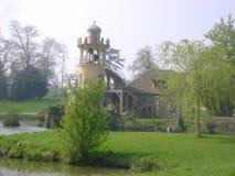 在小的Trianon的微型灯塔,凡尔赛 图库摄影