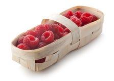 在小篓的莓 图库摄影