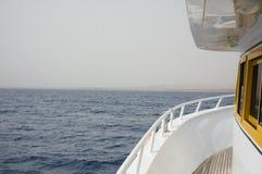 在小船上 免版税图库摄影