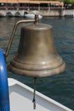 在小船的响铃 库存图片