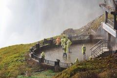 在尼亚加拉瀑布后的旅途 免版税图库摄影