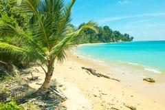 在尼尔海岛的西塔普尔海滩 免版税库存图片
