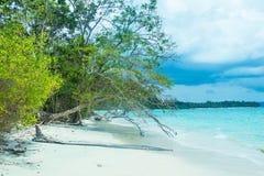 在尼尔海岛的西塔普尔海滩 免版税库存照片