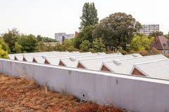 在屋顶的一个圆顶 免版税库存照片