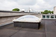 在屋顶的一个圆顶 免版税库存图片