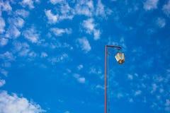 在屋顶的灯 免版税图库摄影