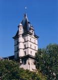 在屋顶结构树的法语 免版税图库摄影