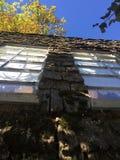 在屋顶, Coombs的没有山羊, BC 免版税库存图片