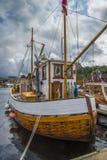 在展示的小船在港口halden,图象7 免版税库存照片