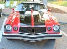 老雪佛兰Camaro汽车 免版税库存照片