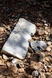 在山宏观背景美术的岩石在优质印刷品产品50,6 Megapixels 图库摄影