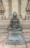 在山楂Pha Kaeo,万象,老挝的Buddhas 免版税图库摄影