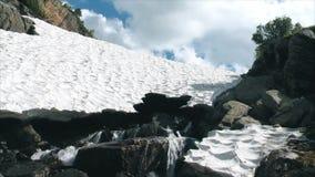 在山河的大冰川 股票视频