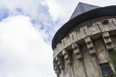 在山的伟大的城堡 库存图片