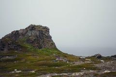 在山的旅行 免版税库存照片