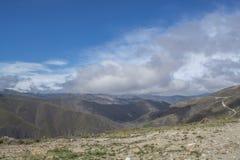在山的美好的上面在葡萄牙 库存照片