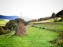 在山的自然风景 免版税库存照片
