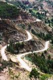 在山的蛇纹石 免版税图库摄影
