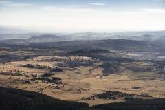 在山的视图 免版税图库摄影