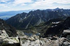 在山的chata,斯洛伐克欧洲 库存照片