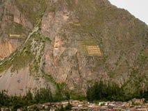 在山的Ekeko 免版税库存照片