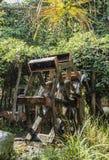 在山的Watermill 库存图片