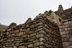 在山顶部的古老建筑 免版税库存照片