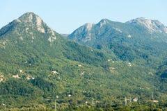 在山,黑山 免版税库存照片