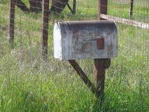 在岗位的农村邮箱 免版税库存图片