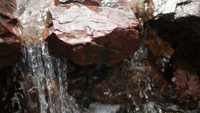 在岩石中的秋天 影视素材