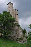 在岩石的城堡 免版税图库摄影