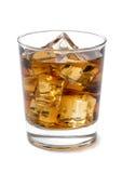 在岩石的威士忌酒 库存图片