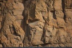 在岩石的心脏 库存图片