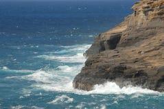 在岩石的通知 免版税库存图片