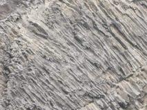 在岩石纹理,冰岛的自然玄武岩墙壁 库存照片