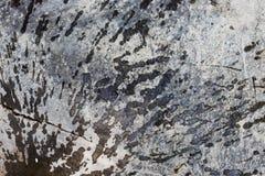 水在岩石,背景飞溅 免版税库存图片