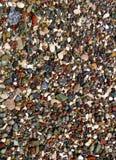 在岸的海洋岩石 库存图片