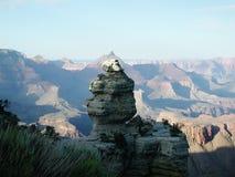 在峡谷的影子 免版税库存图片
