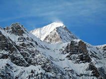 在峰顶的3000米 免版税库存照片