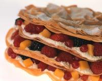 在州酥皮点心的新鲜水果 库存照片