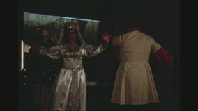 在巡航划线员的俄国传统舞蹈 股票录像