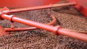 在工业机器的咖啡豆 影视素材